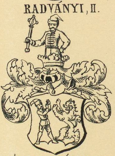 Radvanyi Coat of Arms / Family Crest 1