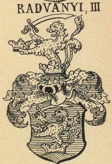 Radvanyi Coat of Arms / Family Crest 2