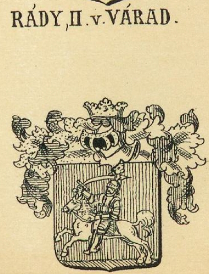 Rady Coat of Arms / Family Crest 1