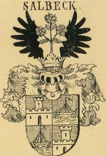 Salbeck Coat of Arms / Family Crest 0