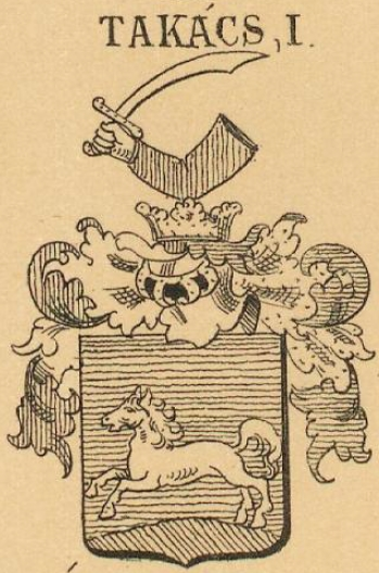 Takacs Coat of Arms / Family Crest 1