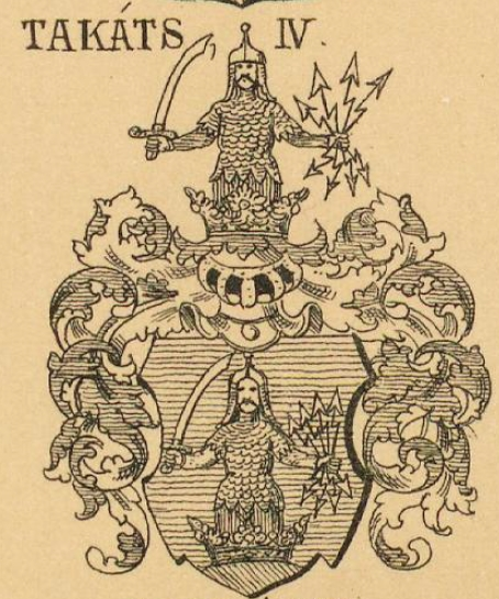 Takacs Coat of Arms / Family Crest 4