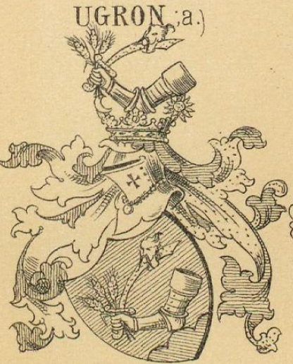 Ugron Coat of Arms / Family Crest 0