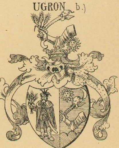 Ugron Coat of Arms / Family Crest 1