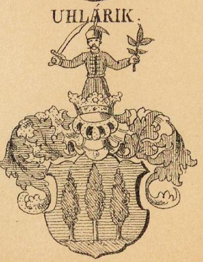 Uhlarik Coat of Arms / Family Crest 0