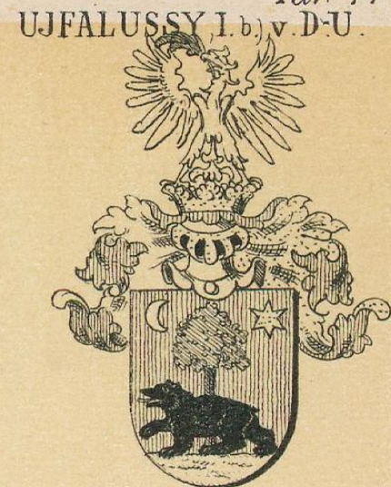 Ujfalussy Coat of Arms / Family Crest 1