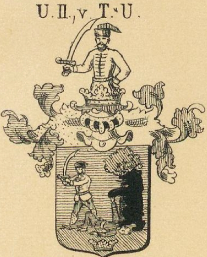 Ujfalussy Coat of Arms / Family Crest 2