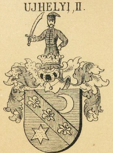 Ujhely Coat of Arms / Family Crest 1