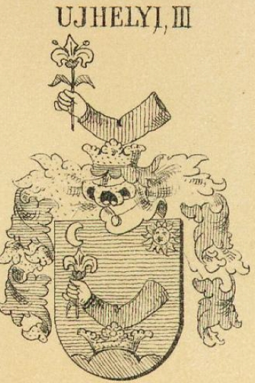 Ujhely Coat of Arms / Family Crest 2