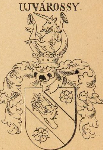 Ujvarossy Coat of Arms / Family Crest 1