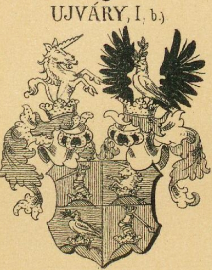 Ujvary Coat of Arms / Family Crest 1
