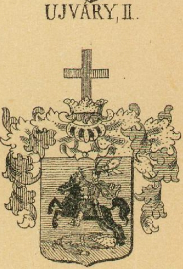 Ujvary Coat of Arms / Family Crest 2