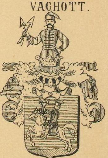 Vachott Coat of Arms / Family Crest 0