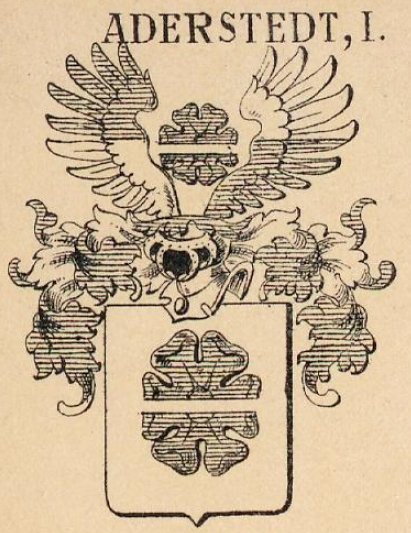 Aderstedt Coat of Arms / Family Crest 1