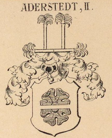 Aderstedt Coat of Arms / Family Crest 2