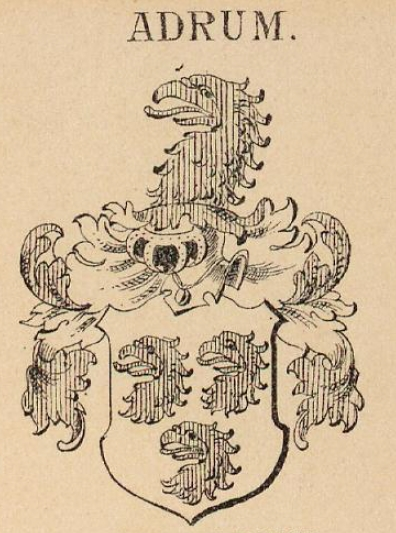 Adrum Coat of Arms / Family Crest 0