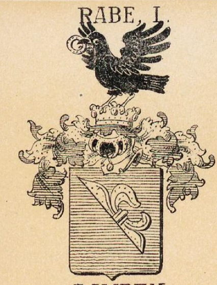 Rabe Coat of Arms / Family Crest 5