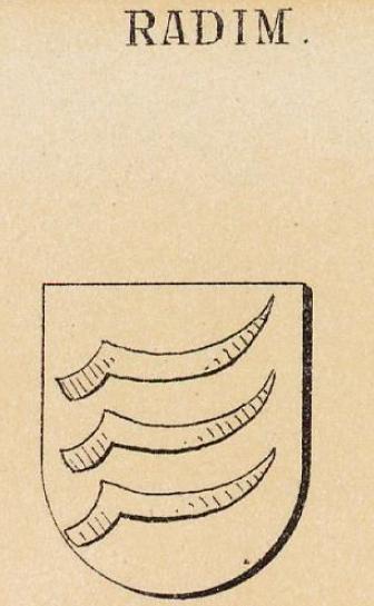 Radim Coat of Arms / Family Crest 0