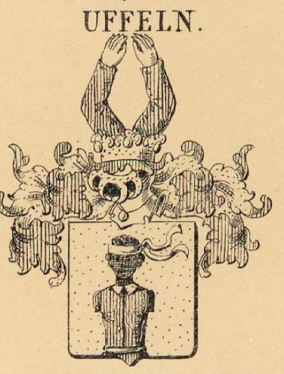 Uffeln Coat of Arms / Family Crest 1