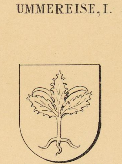Ummereise Coat of Arms / Family Crest 0