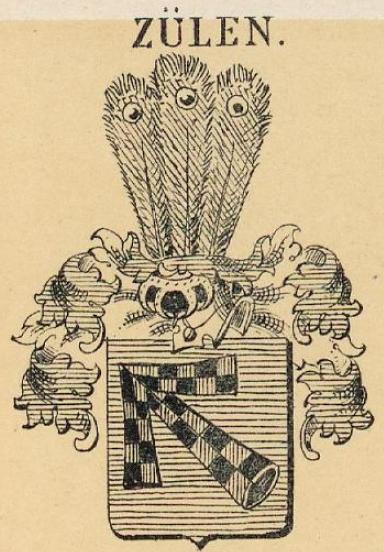Zulen Coat of Arms / Family Crest 0