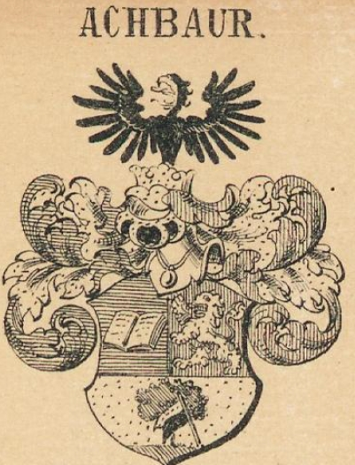 Achbaur Coat of Arms / Family Crest 0
