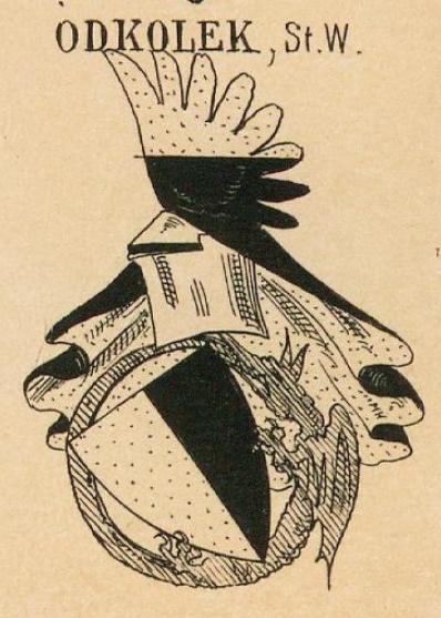 Odkolek Coat of Arms / Family Crest 1