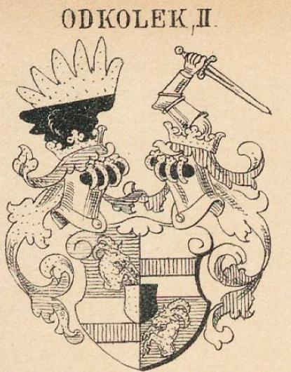 Odkolek Coat of Arms / Family Crest 2