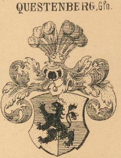 Questenberg Coat of Arms / Family Crest 4
