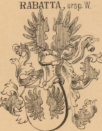 Rabatta Coat of Arms / Family Crest 3