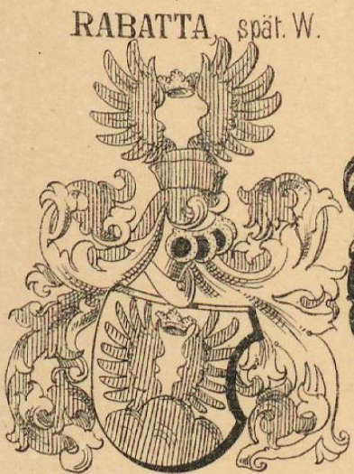 Rabatta Coat of Arms / Family Crest 4