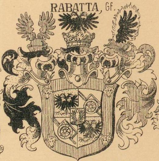 Rabatta Coat of Arms / Family Crest 5