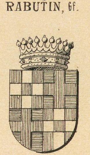 Rabutin Coat of Arms / Family Crest 3