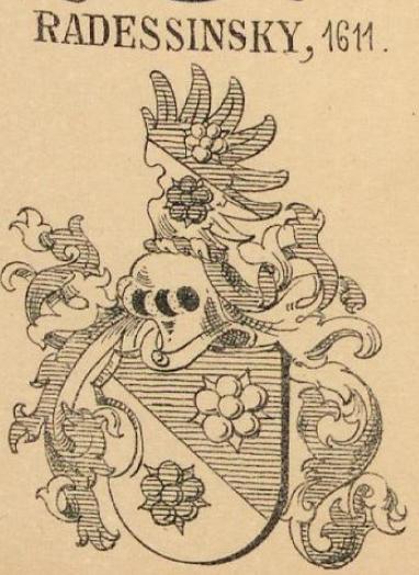 Radessinsky Coat of Arms / Family Crest 1
