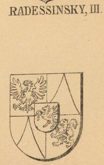 Radessinsky Coat of Arms / Family Crest 2