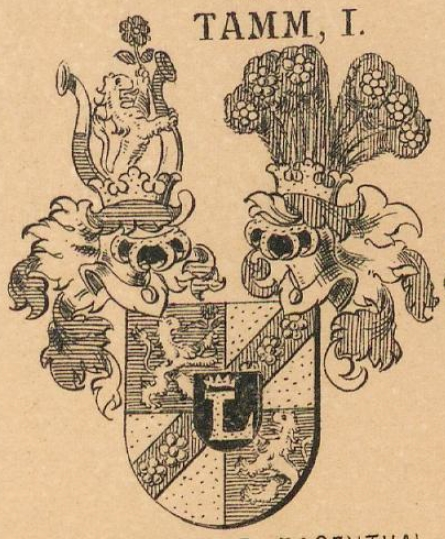Tamm Coat of Arms / Family Crest 3