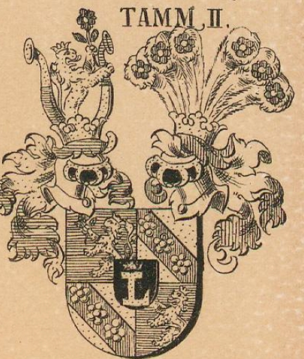 Tamm Coat of Arms / Family Crest 4