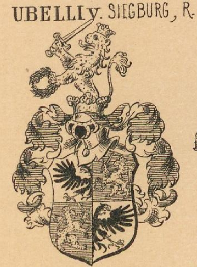 Ubelli Coat of Arms / Family Crest 1