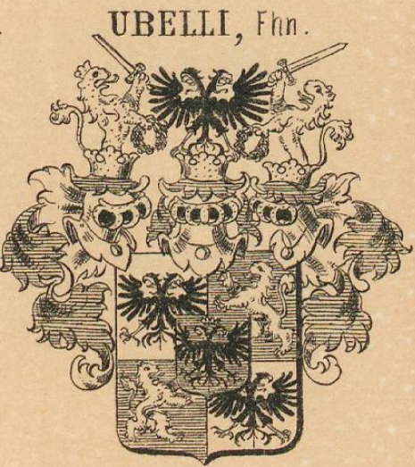 Ubelli Coat of Arms / Family Crest 2