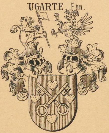 Ugarte Coat of Arms / Family Crest 3