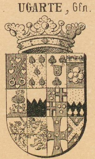 Ugarte Coat of Arms / Family Crest 5