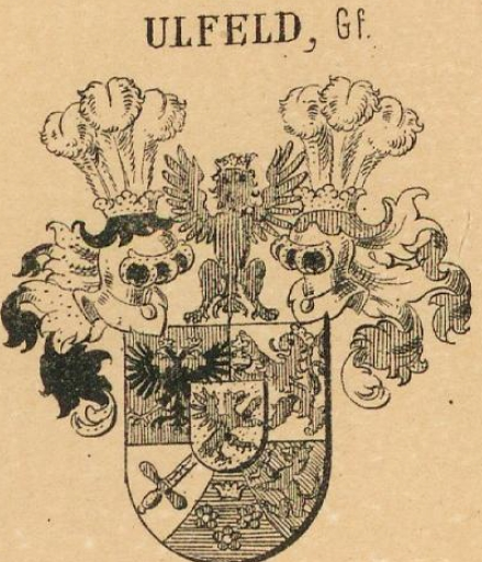 Ulfeld Coat of Arms / Family Crest 3
