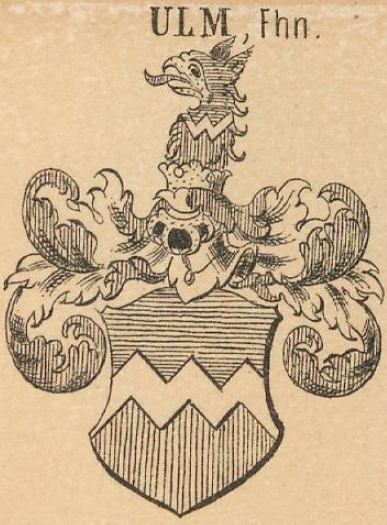 Ulm Coat of Arms / Family Crest 4