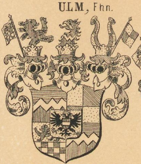Ulm Coat of Arms / Family Crest 6