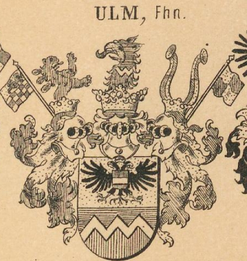 Ulm Coat of Arms / Family Crest 7