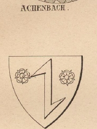 Achenbach Coat of Arms / Family Crest 1