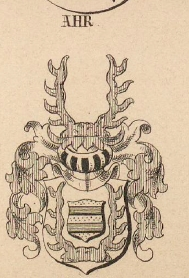 Ahr Coat of Arms / Family Crest 1