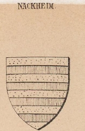 Nackheim Coat of Arms / Family Crest 1