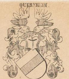 Quernheim Coat of Arms / Family Crest 2