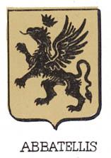 Abbatellis Coat of Arms / Family Crest 0